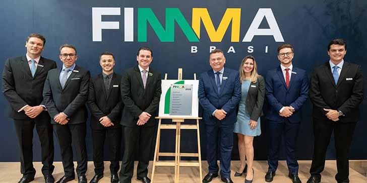 Diretoria FIMMA Brasil 2019 com presidente Movergs crédito Carlos Ferrari - Próxima edição da FIMMA Brasil será no inverno