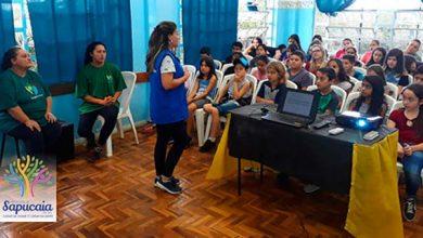 Educação Ambiental 390x220 - Alunos de Sapucaia do Sul aprendem sobre reciclagem de materiais