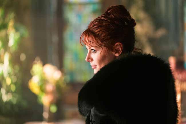 """Emily Beecham como A Viúva em """"Into the Badlands"""" - A Viúva faz uma jogada arriscada em episódio de """"Into the Badlands"""""""