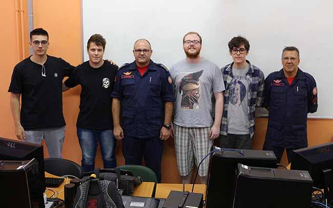 Feevale compeição corpo de bomveiros - Jogo O Resgate vence desafio do curso de Jogos Digitais da Feevale