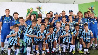 Grêmio Sub 12 390x220 - Grêmio Sub-12 conquista o tricampeonato mundial Go Cup