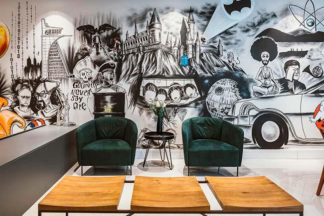 Grafite em casa001 - Grafite se destaca na decoração