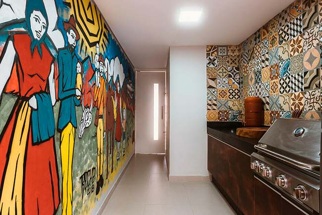Grafite em casa007 - Grafite se destaca na decoração