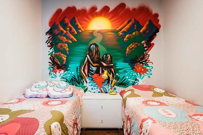 Grafite em casa008 - Grafite se destaca na decoração