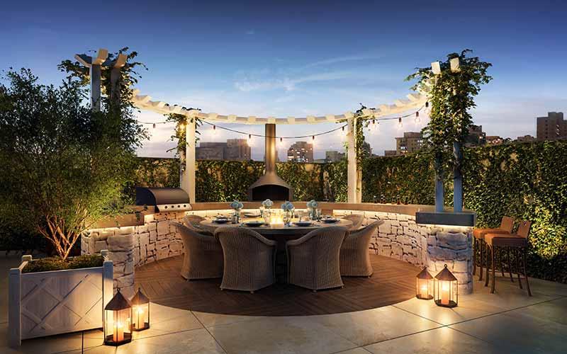 HAM 09 Terraco Grill EF - Luxo em Balneário Camboriú: Hamptons Village e Aurora Exclusive Home