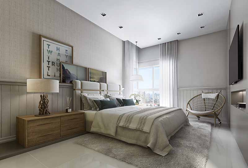 HAM 27 Suite  TipoA Apto2 EF - Luxo em Balneário Camboriú: Hamptons Village e Aurora Exclusive Home