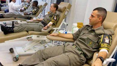 Photo of Hemocentro recebe doação de sangue de policiais militares