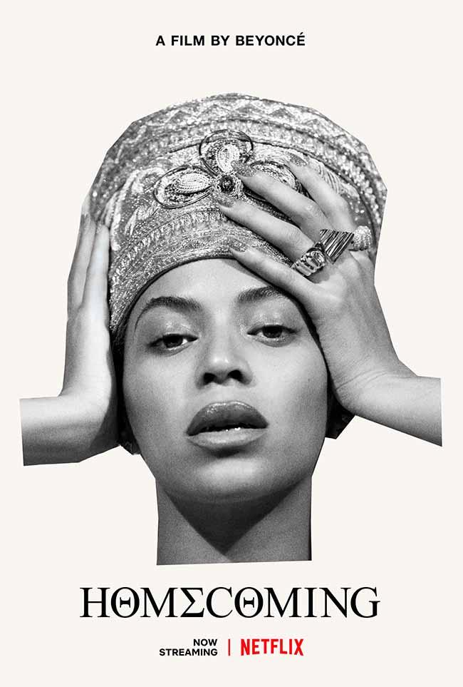 Homecoming A Film by Beyoncé - Netflix lança hoje Homecoming: A Film by Beyoncé