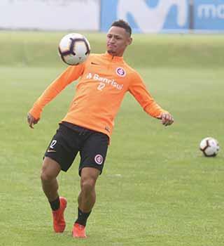 Inter treino Lima Peru 1 - Inter treina para estreia no Brasileirão