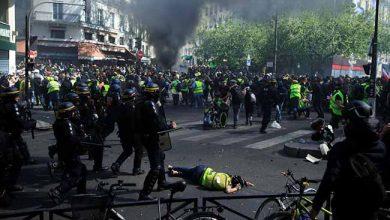 Mais de 100 pessoas são presas em protesto dos coletes amarelos 390x220 - Paris: protesto dos coletes amarelos acaba com mais de 100 prisões