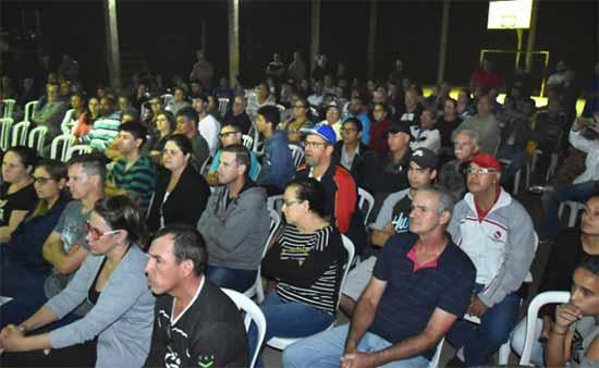 Moradores do bairro São José compareceram em peso ao encontro - Fátima Daudt anuncia mais de R$ 4 milhões em investidos no bairro São José
