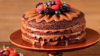 Naked cake com ganache de cacau 390x220 - Naked cake com ganache de cacau