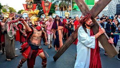 Paixão de Cristo poa 390x220 - Via Sacra no Morro da Cruz celebra a Sexta Feira Santa