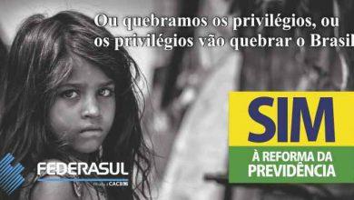 Reforma da Prevodência Federasul 390x220 - ACIST-SL adere à campanha da Federasul pela Reforma da Previdência