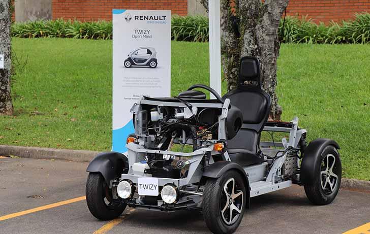 Tecpar firmou parceria com a Renault para carro elétrico 2 - Tecpar firmou parceria com a Renault para carro elétrico