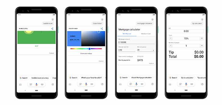 Tela Google 3 - O Assistente do Google no Android recebe respostas mais visuais