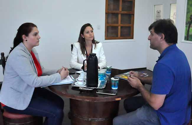 Turismo Caxias do Sul.jpg - Presidente do Comtur visita Secretaria do Turismo de Caxias do Sul