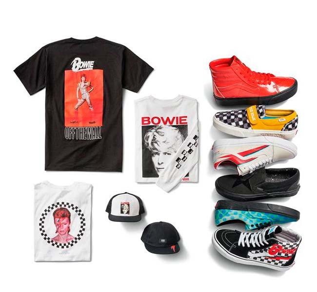 Vans x David Bowie6 - Vans lança coleção unisex que celebra a vida de David Bowie