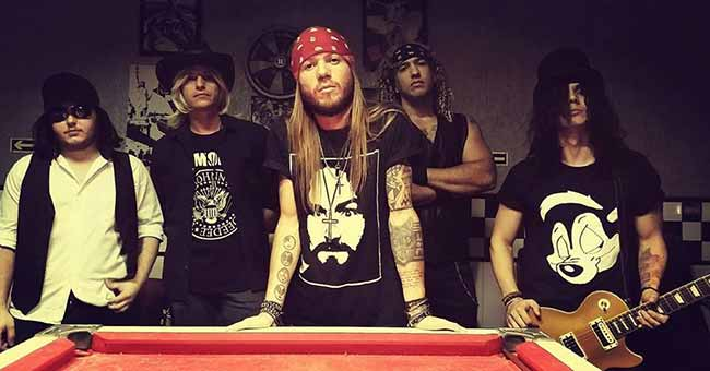 Welcome to Guns - Especial Guns N' Roses invade o palco do Didge BC nesta sexta-feira