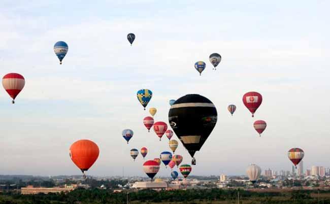 balonismo Adriano Daka  - Confira a programação do 31º Festival Internacional de Balonismo de Torres