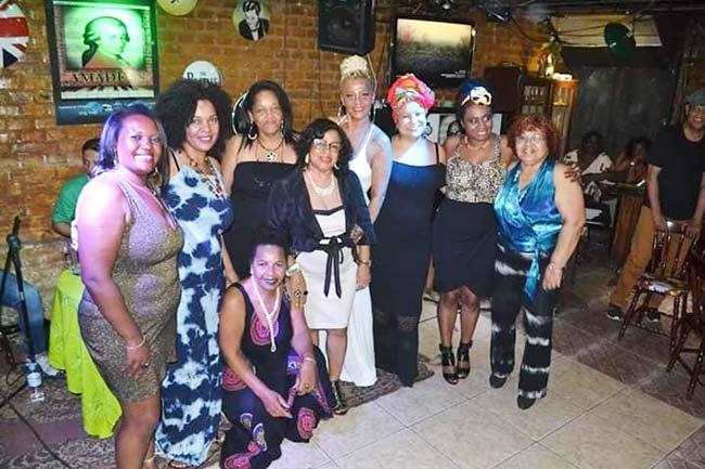 cantoras e compositoras Foto credito de Indaiá Dillenburg 2 - Samba do Sul na Casa de Cultura Mario Quintana dia 18