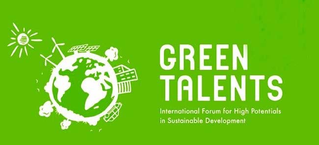 greentale - Prêmio Green Talents 2019 abre inscrições