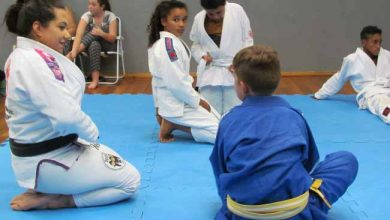 Photo of Uma aula de Jiu-Jitsu especial para jovens do Centro CEU