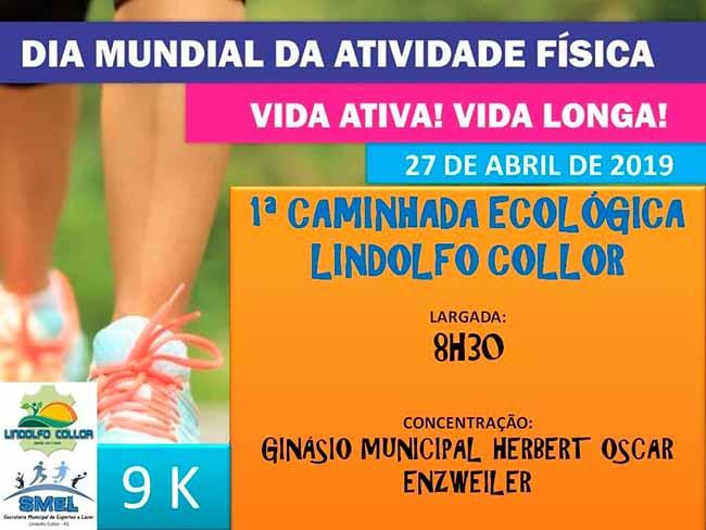 lindcollorcam - Lindolfo Collor realiza amanhã 1ª Caminhada Ecológica