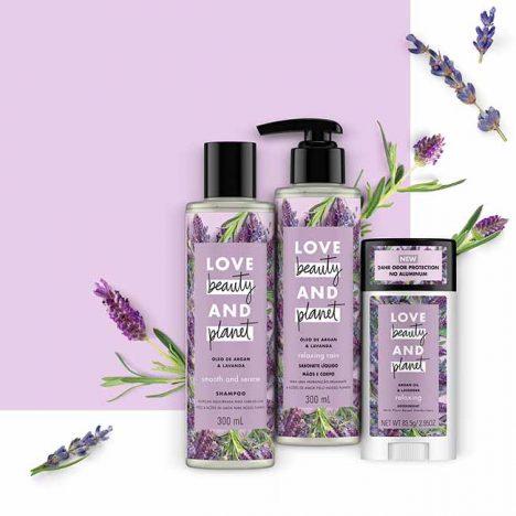 linha SMOOTH AND SERENE 468x468 - Unilever lança sua linha vegana Love Beauty and Planet