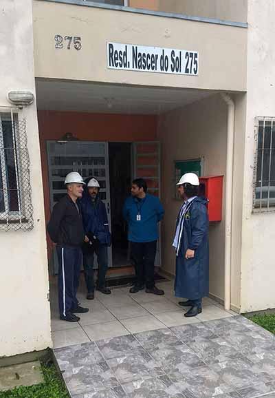loteamento Campos da Serra 1 - Vistoria em prédios no loteamento Campos da Serra em Caxias