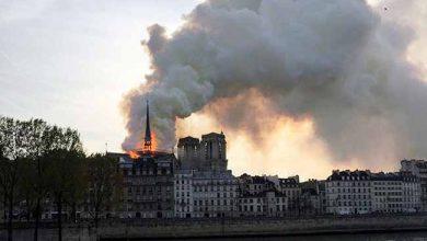 notredame 390x220 - Incêndio atinge Catedral de Notre-Dame em Paris