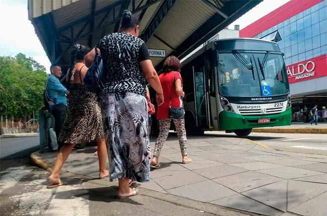 paradão nh - Confira as mudanças nas linhas de ônibus de Novo Hamburgo