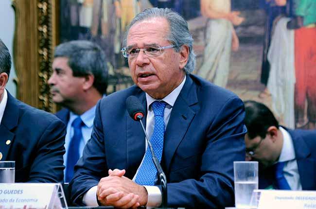 paulo guedes camara - Paulo Guedes falou sobre reforma da Previdência na Câmara dos Deputados