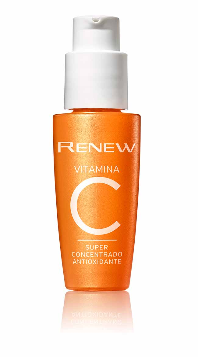 renew vitamina c - Avon lança Renew Vitamina C Super Concentrado Antioxidante