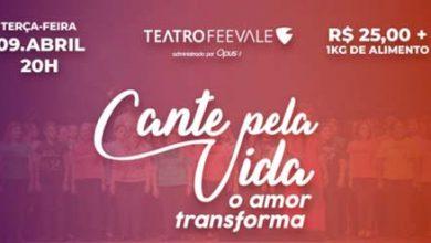 vga evento beneficente 390x220 - Cante pela Vida 2019 acontece dia 9 no Teatro Feevale