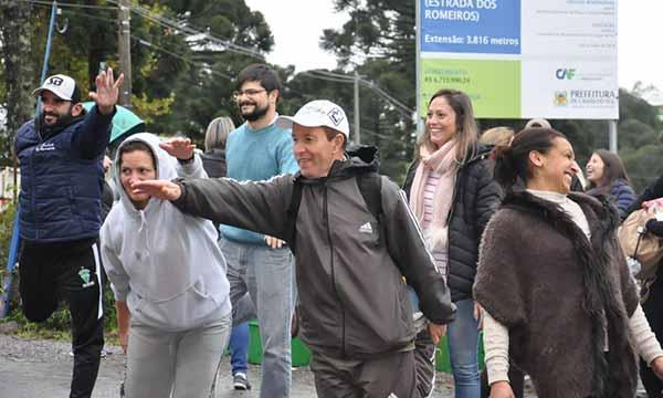 130 mil fiéis na Romaria de Caravaggio 10 - Prefeitura de Caxias presta apoio aos 130 mil fiéis na Romaria de Caravaggio