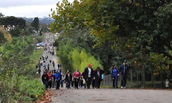 130 mil fiéis na Romaria de Caravaggio 9 - Prefeitura de Caxias presta apoio aos 130 mil fiéis na Romaria de Caravaggio