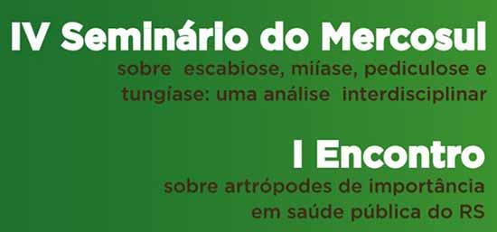 2019 Seminrio Mercosul Artrpodes Interna - IV Seminário do Mercosul e I Encontro sobre Artrópodes