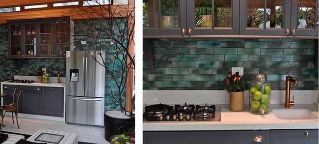 3 projetos de cozinha com bricks - 3 projetos de cozinha com bricks