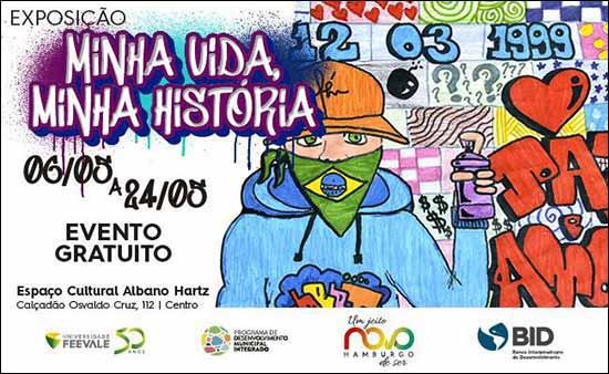 Albano Hartz Minha Vida Minha Historia Site MPNH 650x400 80 - Grafite, arte e muita história são temas de exposição no Espaço Cultural Albano Hartz