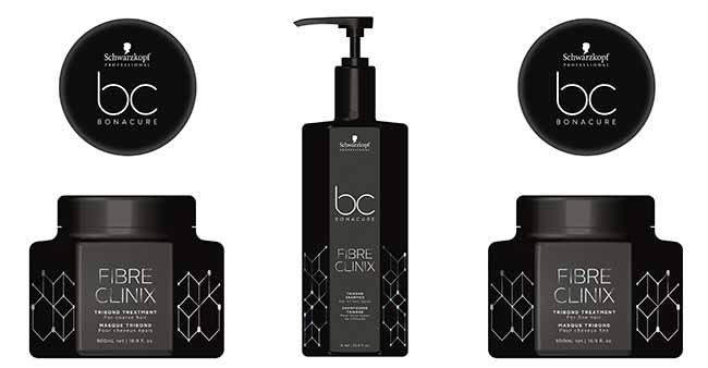 BC Fibre Clinix Máscara Cabelos Finos - Schwarzkopf Professional lança BC Fibre Clinix