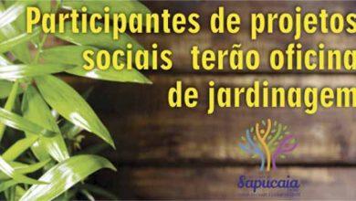 CRAS jardinagem site 390x220 - Sapucaia do Sul oferece oficina de jardinagem no CRAS Nordeste