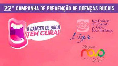 Cancer de Boca 390x220 - Dia D da Saúde Bucal amanhã em Novo Hamburgo