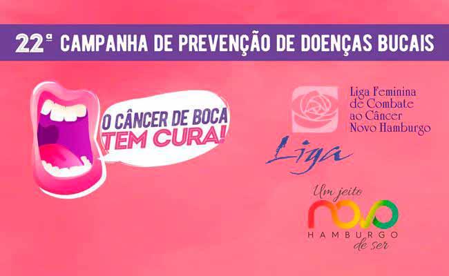 Cancer de Boca - Dia D da Saúde Bucal amanhã em Novo Hamburgo