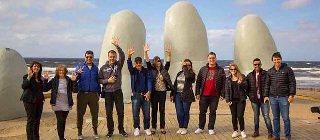 Canela participa da Missão Internacional a 4 - Canela participa da Missão Internacional Brasil/Uruguai