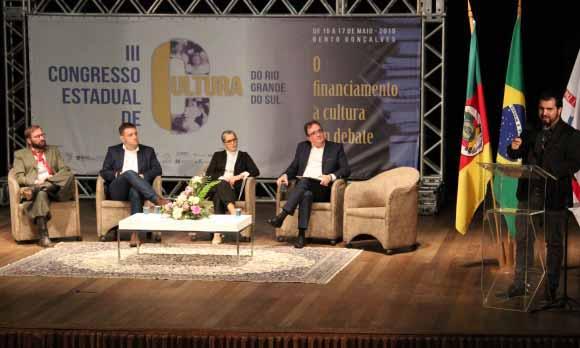 Congresso Estadual de Cultura 2 - Congresso Estadual de Cultura discute o financiamento da área