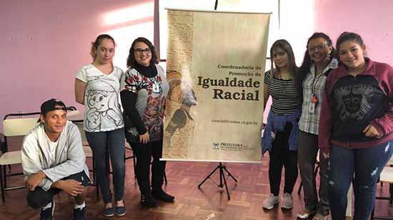 Coordenadoria da Igualdade 1 - Coordenadoria da Igualdade Étnico-Racial de Caxias lança projeto Juventude, Viva!