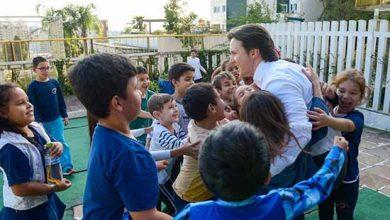 Daniel Guerra visita escola em Caxias do Sul 3 390x220 - Prefeito Daniel Guerra acompanha aulas em Caxias do Sul