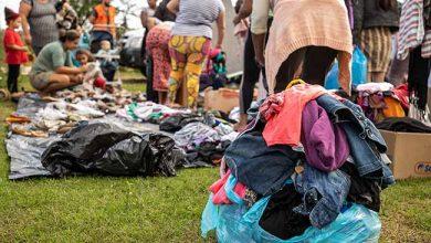Defesa Civil de Canoas alcança a marca de 40 mil doações de roupas nos primeiros cinco meses do ano 390x220 - Defesa Civil de Canoas doou 40 mil peças de roupas às famílias carentes