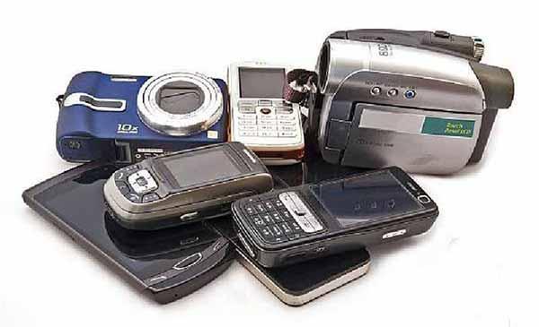 Equipamentos obsoletos - Coleta de Resíduos Eletrônicos na Unisinos em São Leopoldo